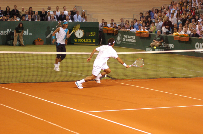 Nadal, Federer - Grass & Clay court
