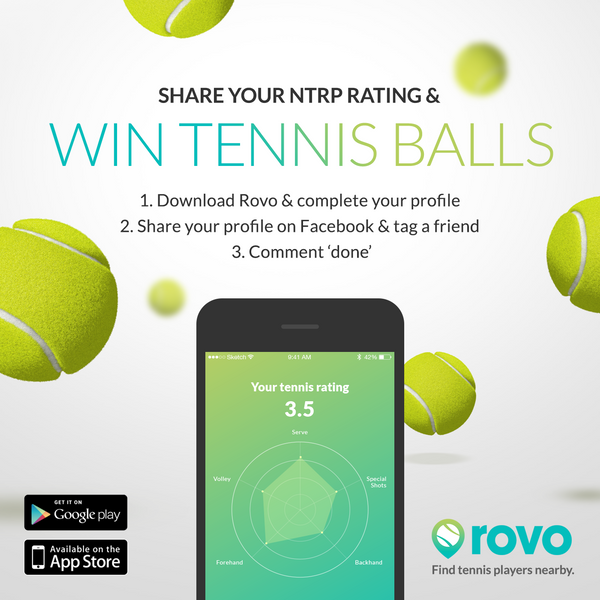 Beta Launch Giveaway - Free tennis balls!