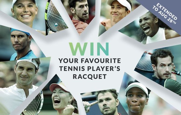 (CONTEST ENDED) Win your favourite tennis player's racquet!